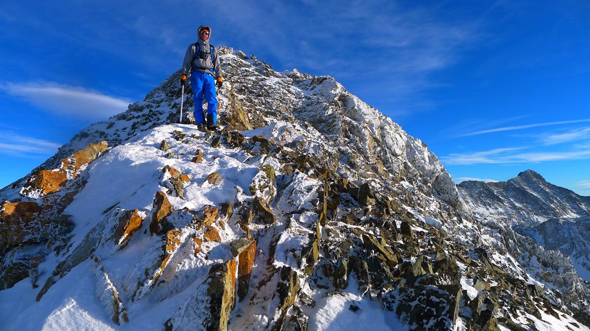 Climbing Colorado\'s 13ers in Winter